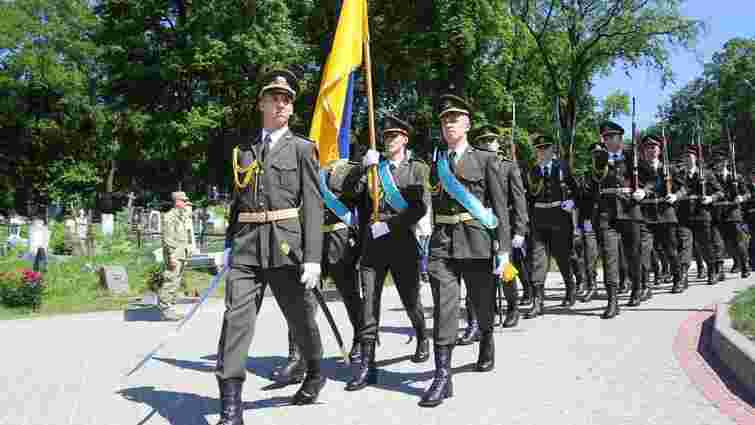 У день Свята Героїв у Львові вшанували борців за волю України