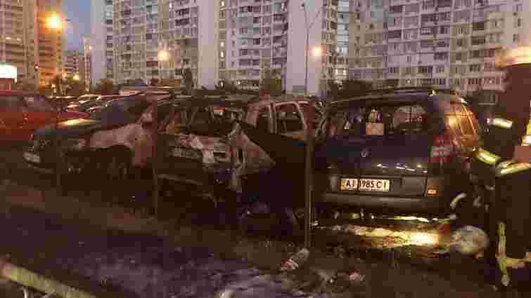 У Києві вночі спалили машину помічника нардепа Ігоря Мосійчука