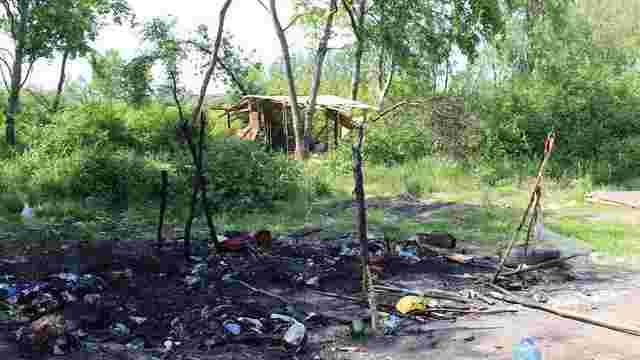 Поліція змусила ромів покинути табір поблизу Львова