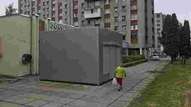 У Львові заберуть МАФ із пішохідної доріжки на вул. Володимира Великого