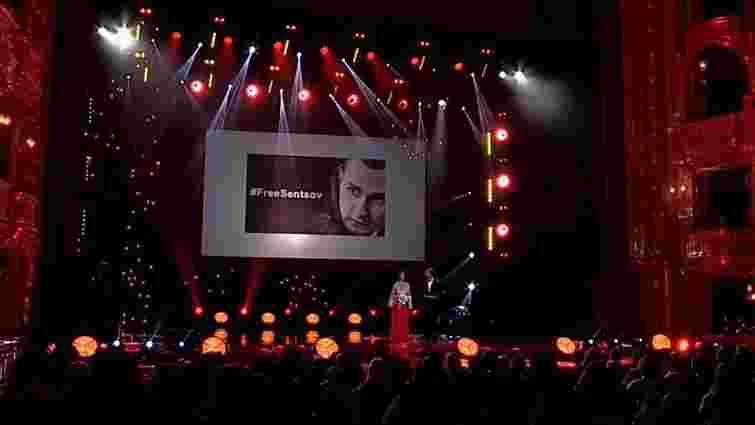 Одеський фестиваль відкрився акцією на підтримку Олега Сенцова