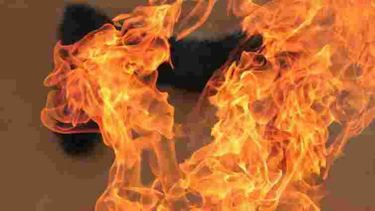 На Львівщині під час пожежі в літній кухні загинув 50-річний чоловік