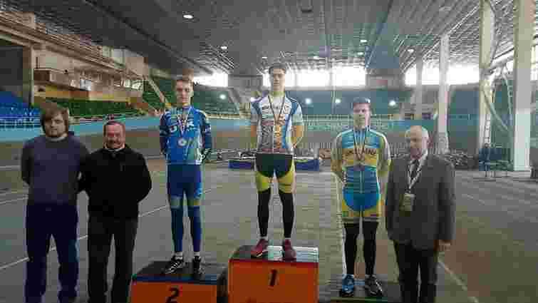 Студент зі Львова став срібним призером Чемпіонату Європи з велоспорту на треку