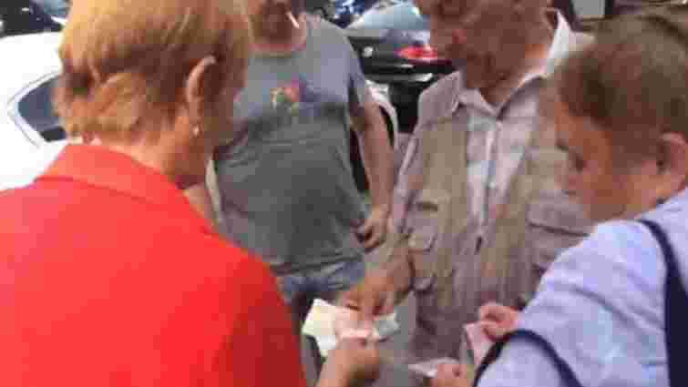 Активісти «АвтоМайдану» заявили про підкуп учасників мітингу під САП