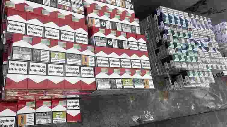 У Шегинях затримали польського контрабандиста сигарет
