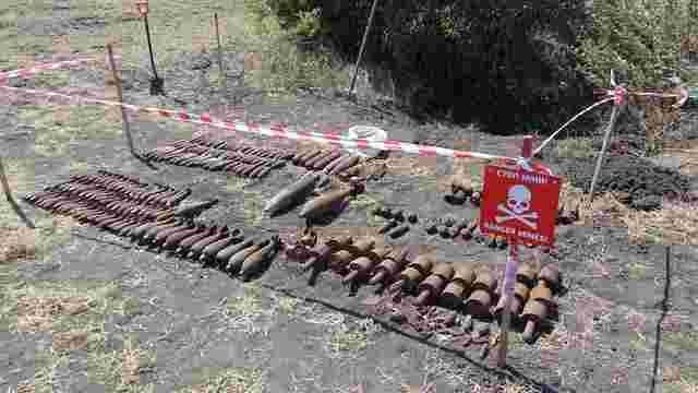 На Донеччині знищили 221 боєприпас часів Другої світової війни
