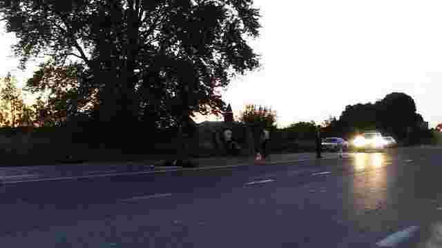 Неподалік Львова водій автомобіля збив на смерть пішохода