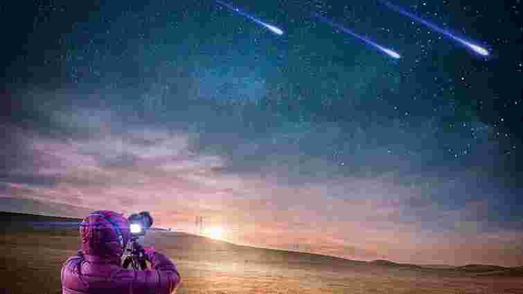 У ніч проти 13 серпня у небі над Україною настане пік зорепаду Персеїди