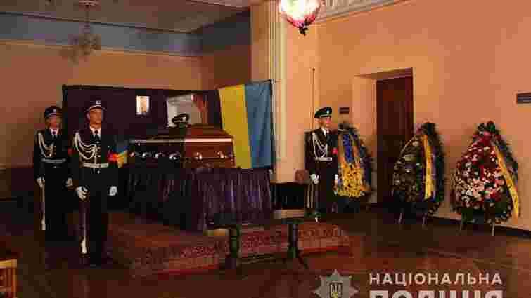 Патрульного, який загинув біля мерії Харкова, посмертно нагородили орденом «За мужність»