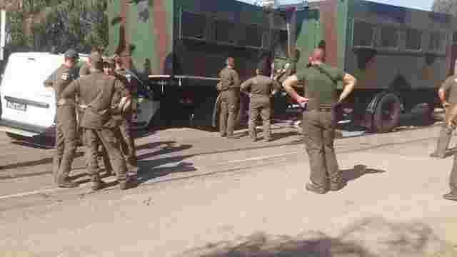 Колона нацгвардійців з Одеси потрапила в ДТП у Київській області