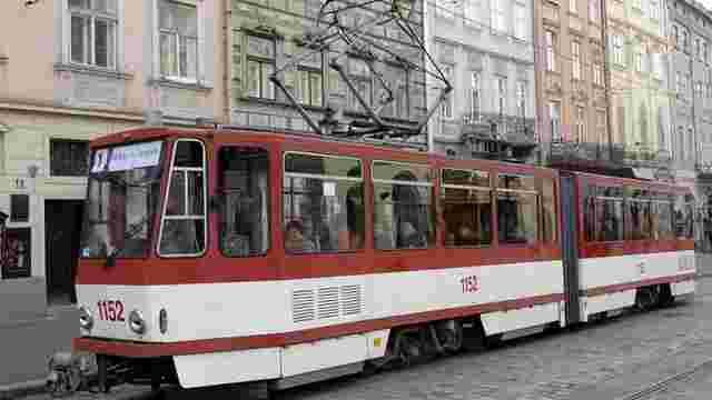 Через святкування Дня Незалежності увечері трамваї не курсуватимуть через пл. Ринок