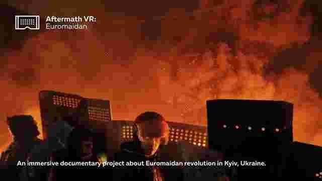 Українці збирають гроші на Kickstarter для документального VR-фільму про події на Майдані