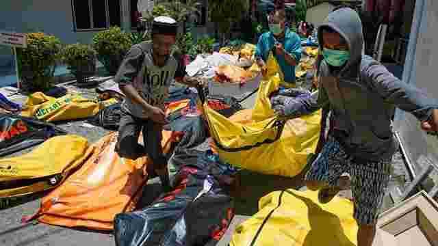 Внаслідок землетрусу та цунамі в Індонезії загинули понад 800 людей
