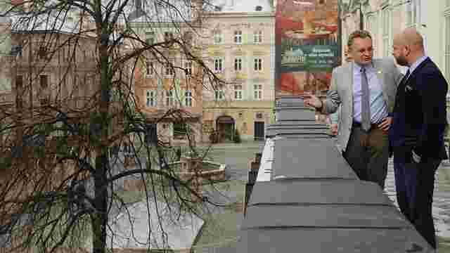 Новообраний мер Вроцлава Яцек Сутрик вперше відвідав Львів