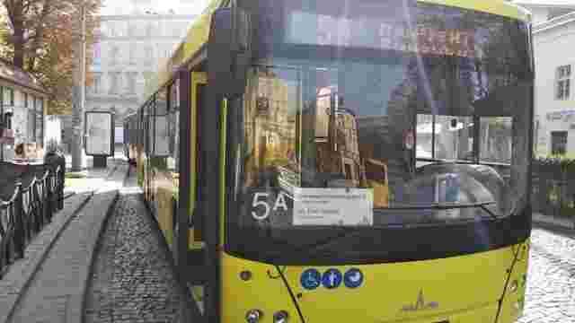 Львівська мерія змінила маршрут автобусу №5а, який курсує до Винників