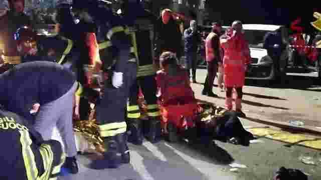 В Італії через тисняву на концерті загинуло шестеро людей