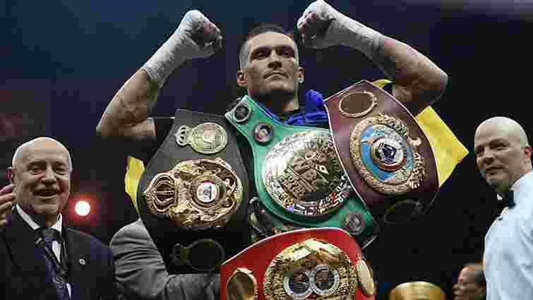 Олександр Усик став найкращим боксером року за версією ESPN