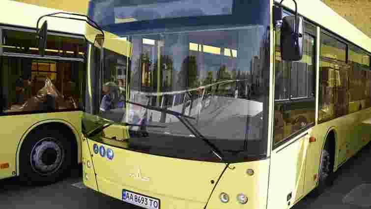 Львівське АТП-1 запустить низькопідлогові автобуси на маршрут №45