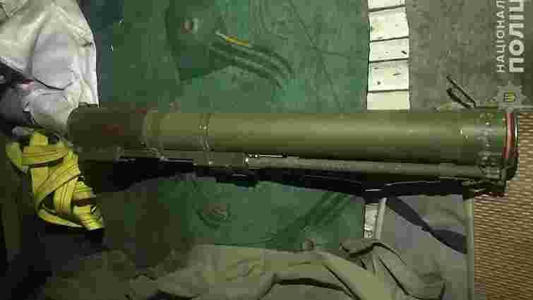 Під час продажу гранатомета у Львові затримали 41-річного чоловіка
