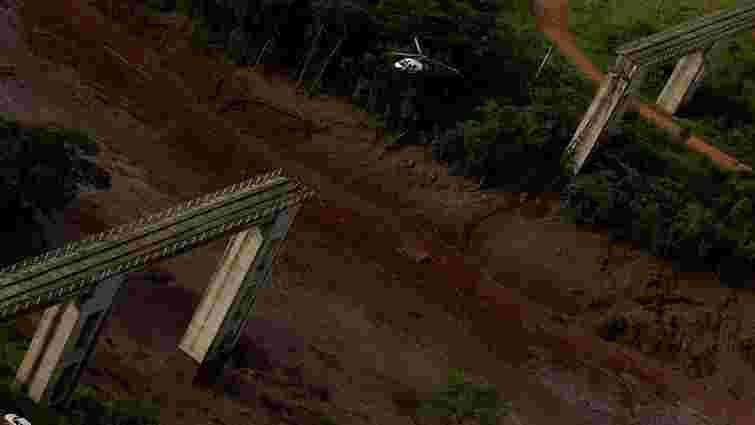 У Бразилії прорвало греблю залізорудної шахти, щонайменше дев'ять загиблих