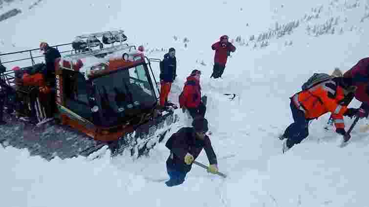 Рятувальники знайшли тіло загиблого під лавиною туриста на Закарпатті