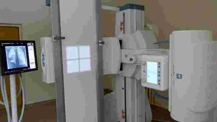 Львівський Центр легеневого здоров'я отримав рентген-систему за  11 млн грн