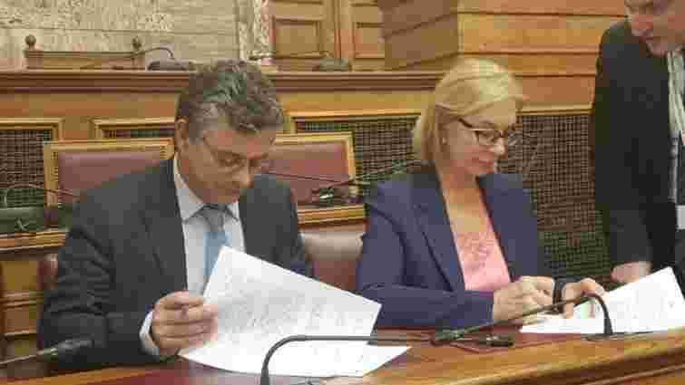 Денісова домовилася з грецьким омбудсменом про захист прав українських в'язнів у Греції