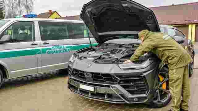 У Польщі затримали українця на краденій Lamborghini Urus вартістю майже 10 млн грн