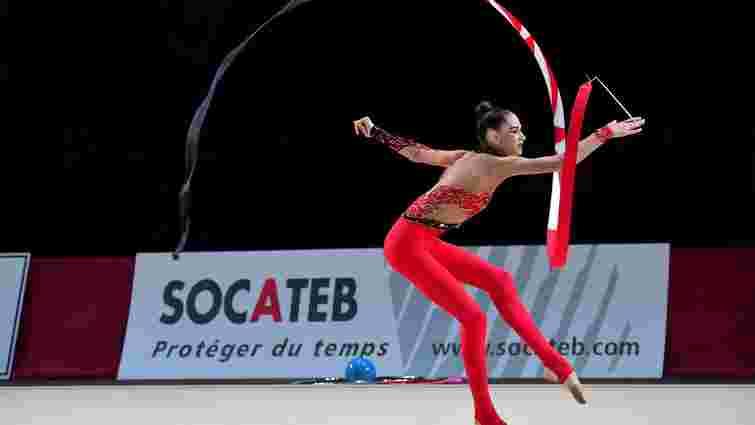 Українська спортсменка здобула «бронзу» чемпіонату світу з художньої гімнастики