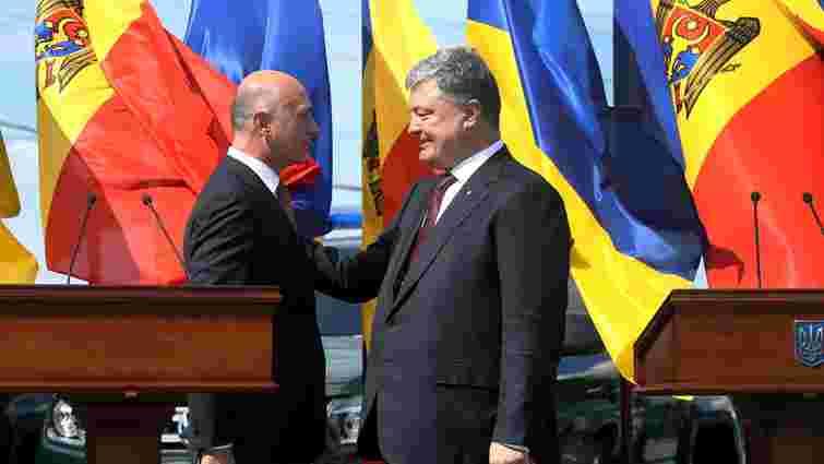 Порошенко зняв санкції з придністровського заводу після листа молдовського прем'єр-міністра