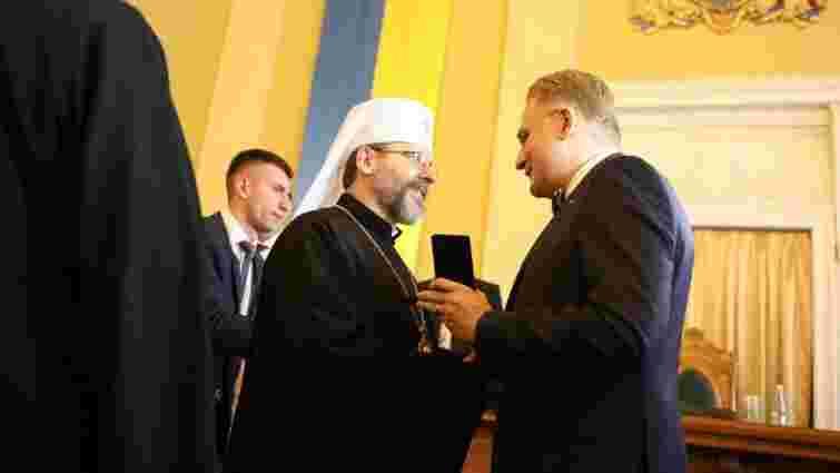 Блаженніший Святослав отримав звання почесного громадянина Львова