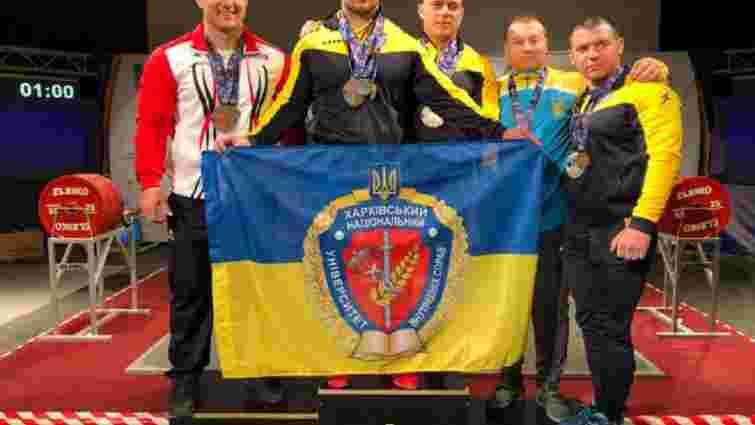 Українець з рекордом виграв чемпіонат Європи з пауерліфтингу
