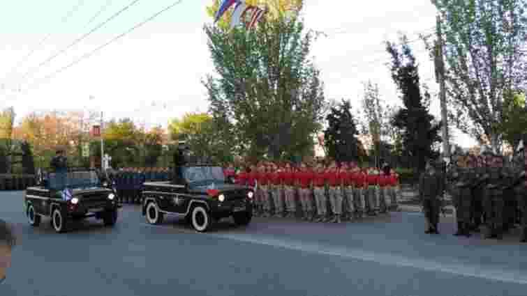 В окупованому Криму Росія провела репетиції парадів до 9 травня