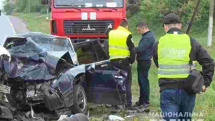 На Вінниччині в ДТП загинули четверо людей