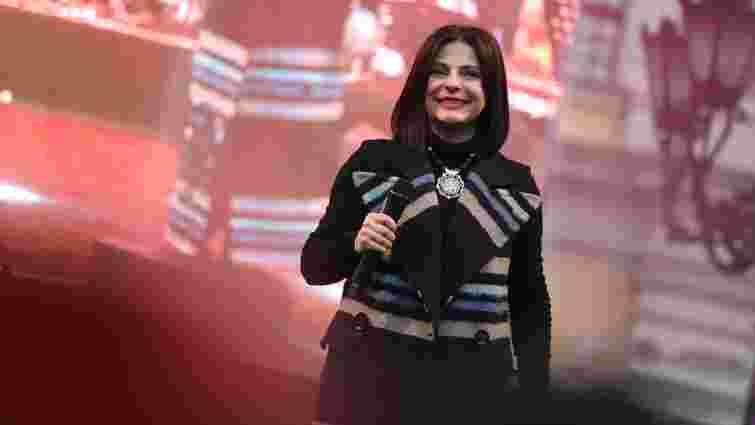 Оксана Муха виступила з концертом  до Дня міста на площі Ринок