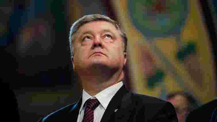 Петро Порошенко від початку року задекларував 325 млн грн доходів