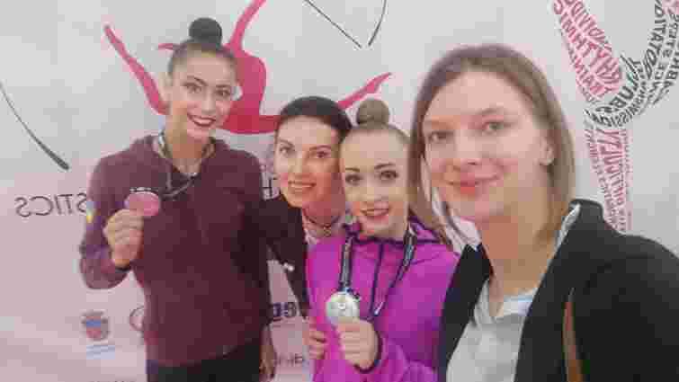 Львів'янка Христина Погранична виборола срібло на етапі Кубка світу з художньої гімнастики