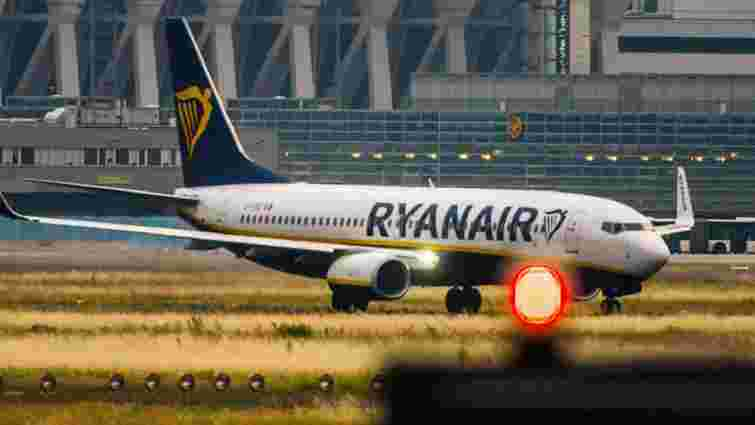 Ryanair збільшив частоту польотів з України за чотирма напрямками