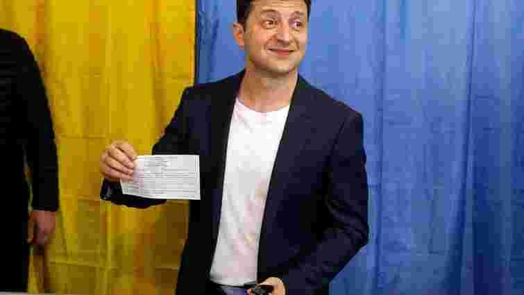 Володимира Зеленського оштрафували на 850 грн через показ виборчого бюлетеня