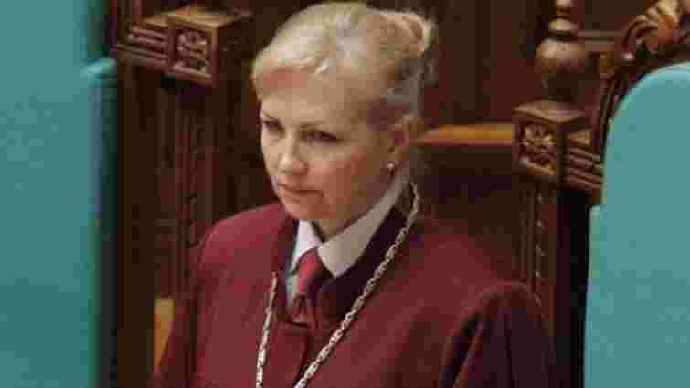 Новим головою Конституційного Суду стала Наталя Шаптала