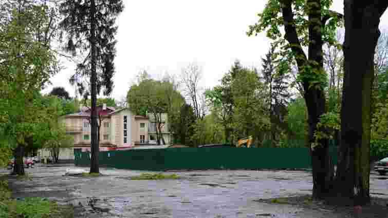 Двоє чиновників мерії отримали догани після знесення історичної будівлі у Стрийському парку
