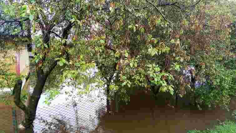 Сильні дощі затопили шість районів у Рівненській області