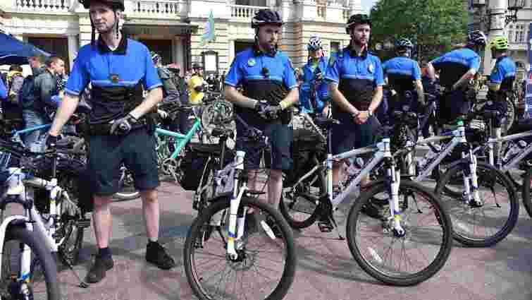 У Львові відновлюють роботу патрульних на велосипедах