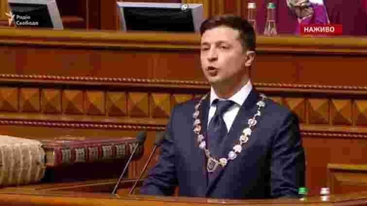 Володимир Зеленський назвав своїм першим завданням припинення війни