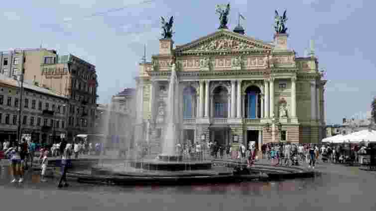На демонтаж фонтану перед львівським Оперним театром витратять 300 тис. грн