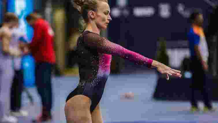 Українські гімнастки здобули 4 медалі на етапі Кубка світу в Хорватії