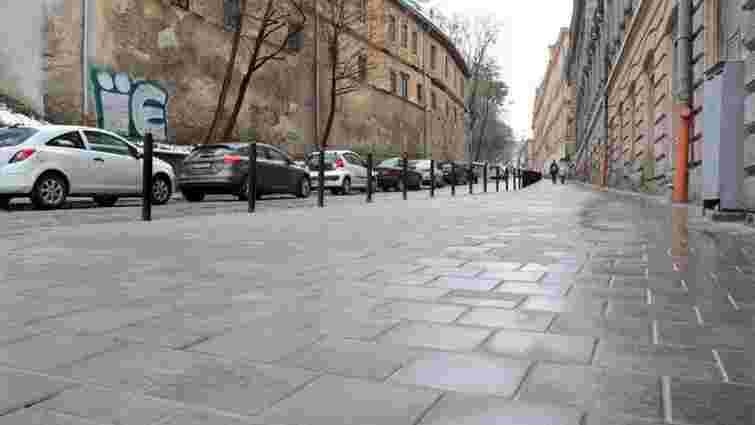 У центрі Львова на чотири місяці перекрили вул. Просвіти