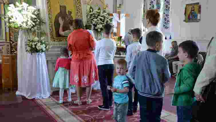 До кінця тижня у львівському храмі перебуватиме чудотворна ікона Зарваницької Божої Матері