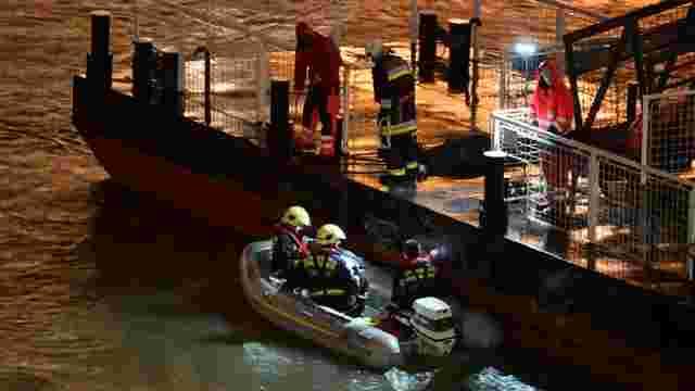 У Будапешті затонув човен із туристами, щонайменше семеро загиблих