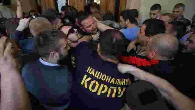 Поліція розслідує штурм Львівської ратуші як хуліганство